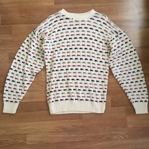 Vintage Sears Roebuck /& Co Sweater Made In USA Size S